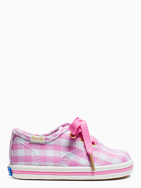 keds kids x kate spade new york champion gingham crib sneakers by kate spade new york