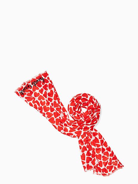 Kate Spade Heart To Heart Oblong, Rooster Red