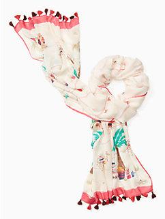 desert oblong scarf by kate spade new york