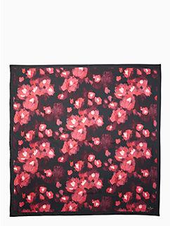 atlas rose silk square scarf by kate spade new york
