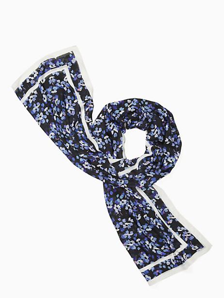 hydrangea oblong scarf