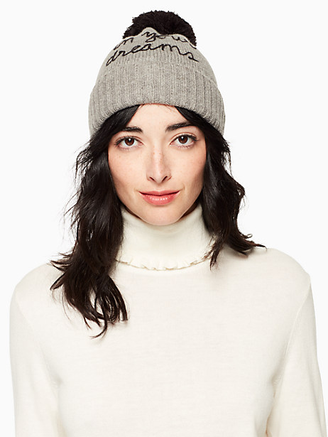 Kate Spade In Your Dreams Beanie, Heather Gray