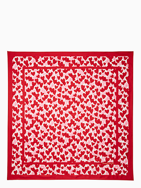 HEART PARTY SQUARE SCARF