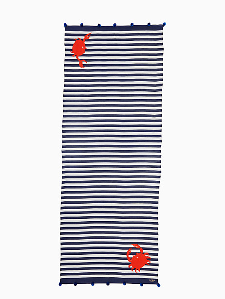 hanging crab oblong scarf by kate spade new york