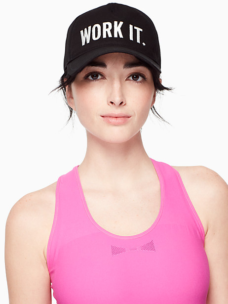 work it baseball cap by kate spade new york