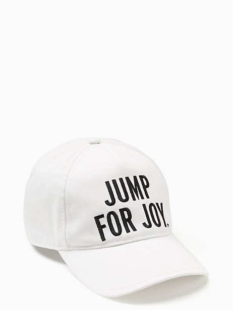 jump for joy baseball cap by kate spade new york