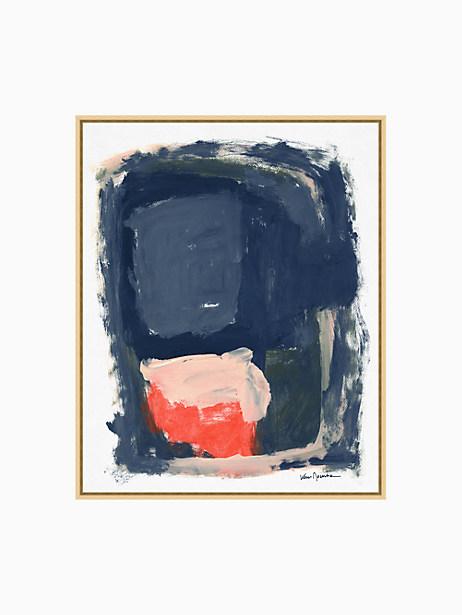 Kate Spade Blue Abstract, Indigo, Pink, White
