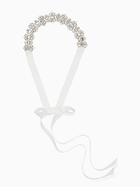 "3/4"" stone bridal belties by kate spade new york"