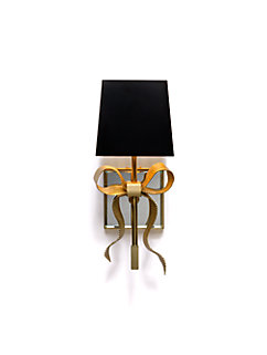 ellery small gros-grain bow sconce by kate spade new york