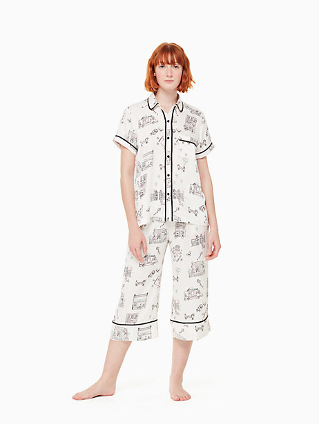 MAIN STREET CAPRI PJ SET