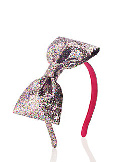 Kids' Large Glitter Bow Headband by kate spade new york