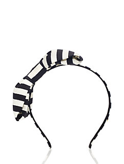Kids' Large Cotton Fille Bow Headband by kate spade new york