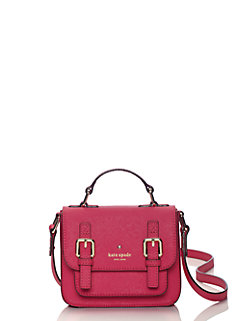 Kid's Saffiano Leather Scout Cross Body by kate spade new york