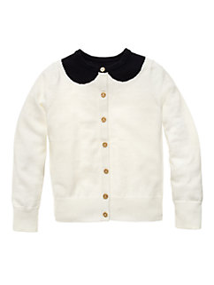 Toddlers Peter Pan Collar Kati Cardigan by kate spade new york