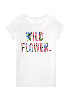 Toddlers Wildflower Tee by kate spade new york