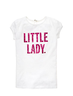 Toddlers Little Lady Tee by kate spade new york