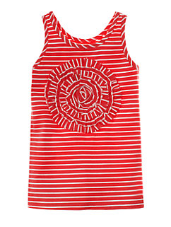 Girls Rosette Applique Tank by kate spade new york
