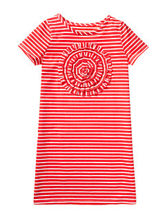 Girls Rosette Applique Dress by kate spade new york