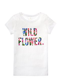 Girls' Wildflower Tee by kate spade new york