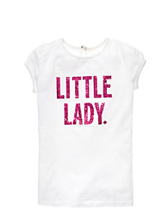 Girls Little Lady Tee by kate spade new york