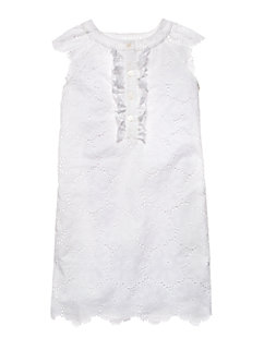 Girls Eyelet Lace Shift Dress by kate spade new york