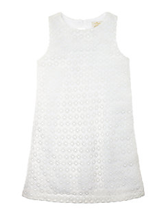 Toddlers' Peek-a-boo Lace Shift Dress by kate spade new york