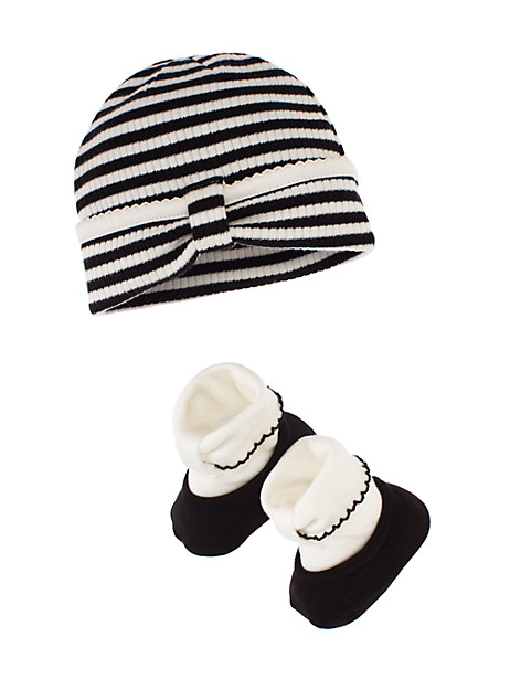 The cutest baby gift!  kate spade cap & bootie set - only $19!