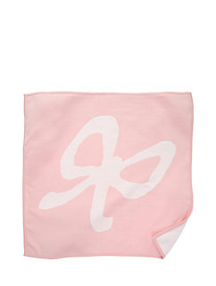 layette intarsia bow blanket by kate spade new york