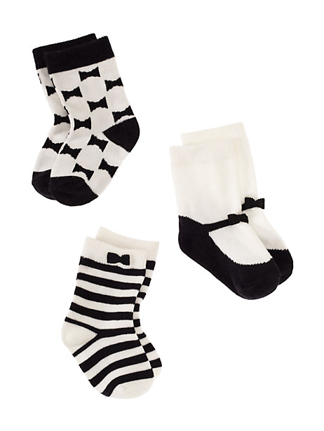 The sweetest kate spade baby girl socks - only $10!