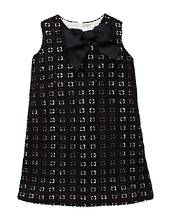 girls' guipure lace dress by kate spade new york