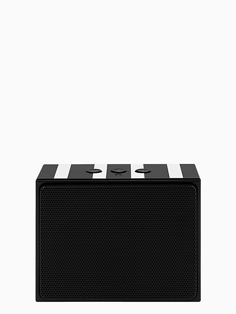 Kate Spade Portable Wireless Speaker, Cream/Black