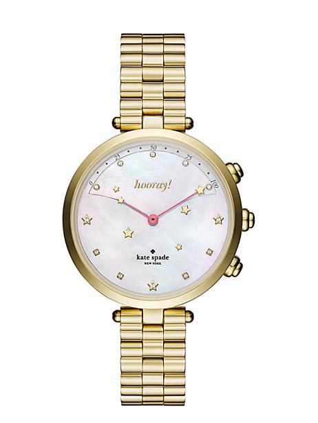 Kate Spade Holland Bracelet Hybrid Smartwatch, Gold