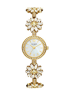 daisy crystal bracelet watch by kate spade new york