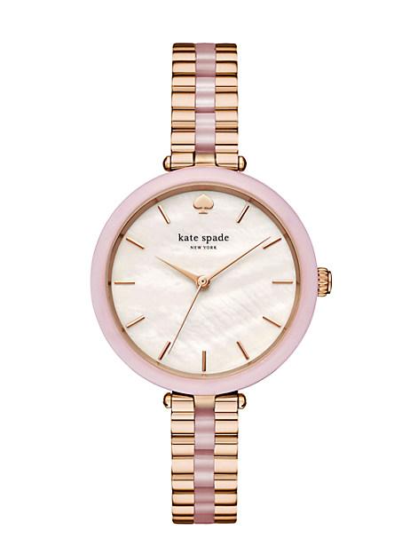 Kate Spade Holland Watch, Rose Gold/Rose
