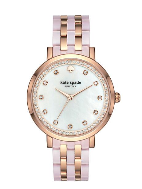 Kate Spade Monterey Watch, Rose Gold/Rose