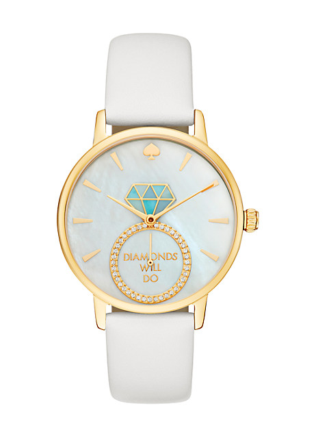 diamonds will do metro  watch by kate spade new york