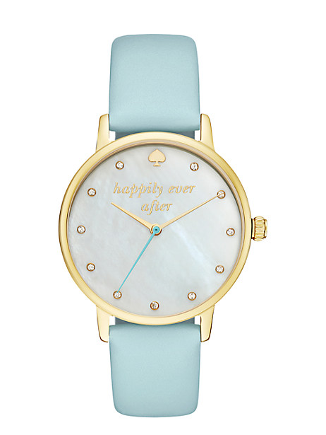 Kate Spade Happily Ever After Metro Watch, Mint Splash/Gold