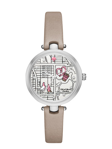 new york map holland watch by kate spade new york