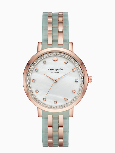 Kate Spade Mint Monterey Watch, Mint