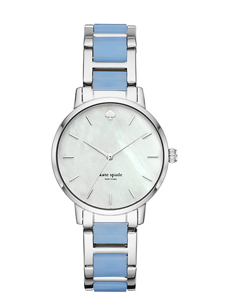 two-tone metro watch by kate spade new york