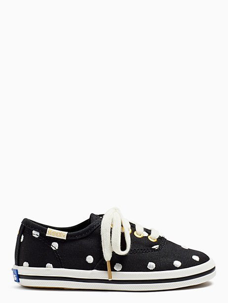 keds kids x kate spade new york champion dancing dot toddler sneakers by kate spade new york
