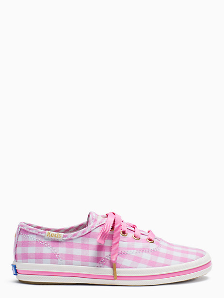 keds kids x kate spade new york champion gingham toddler sneakers by kate spade new york
