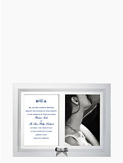 grace avenue double invitation frame