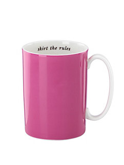 say the word skirt the rules mug