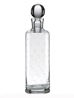 larabee dot decanter by kate spade new york