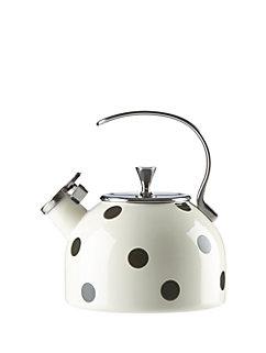 deco dot tea kettle by kate spade new york
