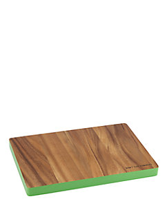 wooden rectangular cutting board by kate spade new york
