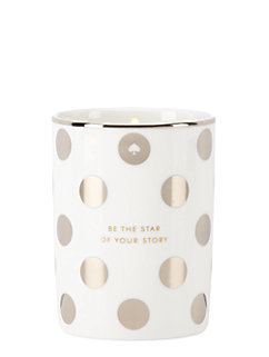 be the star of your story candle by kate spade new york