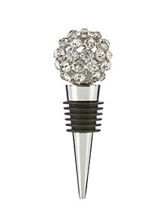 two of a kind jeweled bottle stopper by kate spade new york
