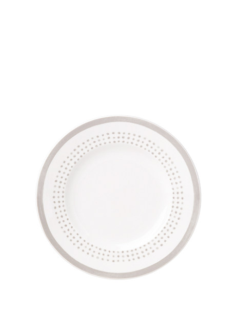 Kate Spade Charlotte Street East Accent Plate, White